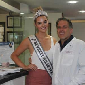 Miss Beverly Hills with Beverly Hills Veneer Dentist